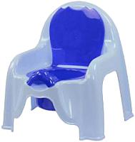 Детский горшок Альтернатива М1326 (голубой) -