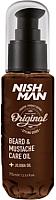 Масло для бороды NishMan Care Oil (75мл) -