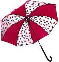 Зонт-трость Капелюш D-7 (розовый) -