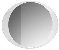 Зеркало Belux Дэко В80 (белый) -