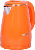Электрочайник Oursson EK1530W/OR -