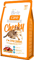 Корм для кошек Brit Care Cat Cheeky I'm Living Outdoor / 132613 (2кг) -