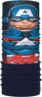 Бафф детский Buff Superheroes Polar Captain America (124102.555.10.00) -