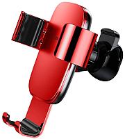 Держатель для портативных устройств Baseus Metal Age Gravity SUYL-D09 (красный) -
