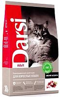 Корм для кошек Darsi Adult Мясное ассорти / 37179 (10кг) -