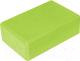 Блок для йоги Sabriasport 3307 (зеленый) -