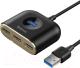 USB-хаб Baseus Type-C to USB3.0x1+USB2.0x3 / CAHUB-BY01 (черный) -
