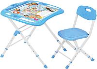 Комплект мебели с детским столом Ника NKP2/1 Азбука в кругу друзей -