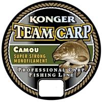 Леска монофильная Konger Team Carp Camou 0.35мм 1000м / 227001035 -