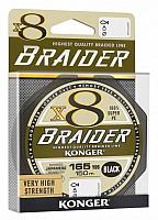 Леска плетеная Konger Braider X8 Black 0.06мм 150м / 250148006 -