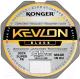 Леска плетеная Konger Kevlon X4 Black 0.14мм 150м / 250151014 -