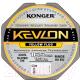 Леска плетеная Konger Kevlon X4 Yellow Fluo 0.14мм 150м / 250154014 -