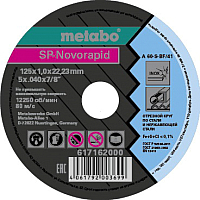 Отрезной диск Metabo 617162000 -
