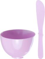 Набор для приготовления альгинатных масок Shary Beauty Set Pink чаша+лопаточка -