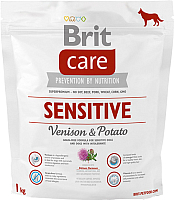 Корм для собак Brit Care Sensitive Venison & Potato / 132747 (1кг) -