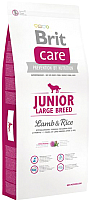 Корм для собак Brit Care Junior Large Breed Lamb & Rice / 132703 (12кг) -
