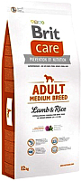 Корм для собак Brit Care Adult Medium Breed Lamb & Rice / 132709 (12кг) -