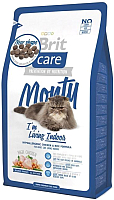 Корм для кошек Brit Care Cat Monty I'm Living Indoor / 132609 (7кг) -