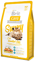 Корм для кошек Brit Care Cat Sunny I've Beautiful Hair / 132619 (2кг) -