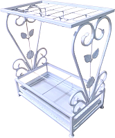 Подставка для зонтов Dudo З-10 (белый) -