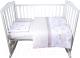 Комплект постельный в кроватку Эдельвейс Цыплята 3 (бязь, бежевый) -