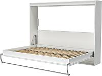 Шкаф-кровать Макс Стайл Strada 18мм 140x200 (светло-серый U708 ST9) -