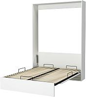 Шкаф-кровать Макс Стайл Studio 18мм 140x200 (светло-серый U708 ST9) -