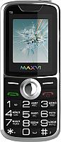Мобильный телефон Maxvi T8 (черный) -