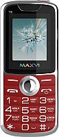 Мобильный телефон Maxvi T8 (красный) -