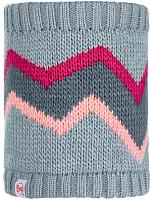 Бафф детский Buff Child Knitted&Polar Neckwarmer Arild Grey Child (117878.937.10.00) -