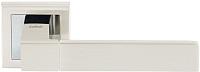 Ручка дверная Нора-М AL 109К (белый жемчуг) -