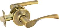 Ручка дверная Нора-М ЗВ2-05 (старая бронза) -