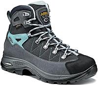 Трекинговые ботинки Asolo Finder GV ML / A23103-A177 (р-р 5, Grey/Gunmetal/Pool Side) -