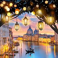 Набор алмазной вышивки Алмазная живопись Вечерняя Венеция / АЖ-1782 -