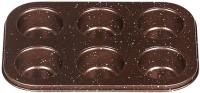 Форма для выпечки Moulin Villa Brownstone Маффин BBWM-006 -
