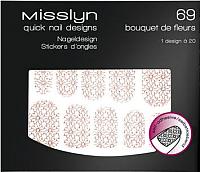 Наклейки для ногтей Misslyn Quick Nail Designer 69 -