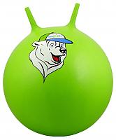 Фитбол с рожками Starfit Медвежонок GB-403 (65см, зеленый) -