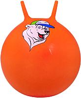 Фитбол с рожками Starfit Медвежонок GB-403 (65см, оранжевый) -