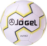 Футбольный мяч Jogel JS-100 Intro (размер 5, белый) -