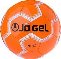 Футбольный мяч Jogel JS-100 Intro (размер 5, оранжевый) -