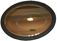 Зеркало интерьерное Гамма Люкс 3 (камень темный) -