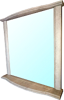 Зеркало интерьерное Гамма Люкс 4 (камень светлый) -