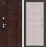 Входная дверь el'Porta Оптим Прайм П-28 Bianco Veralinga (88x205, правая) -