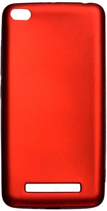 Купить Чехол-накладка Volare Rosso, Soft-touch для Redmi 4A (красный), Китай, поликарбонат