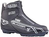 Ботинки для беговых лыж TREK Blazzer Comfort 4 NNN (черный/серый, р-р 41) -