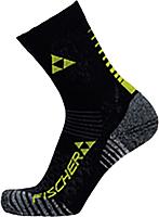Носки лыжные Fischer XC Short / G95019 (р.39-42, черный/желтый) -