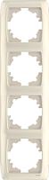 Рамка для выключателя Viko Carmen / 90572004 (кремовый) -