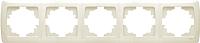 Рамка для выключателя Viko Carmen / 90572105 (кремовый) -