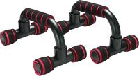 Упоры для отжимания Sabriasport 3313 (черный/красный) -