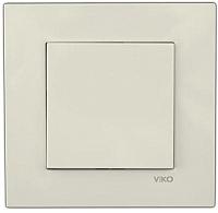 Выключатель Viko Karre / 90960101 (кремовый) -